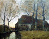 the old mill by william edwin atkinson