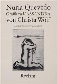 grafik zu kassandra von christa wolf (portfolio of 9) by nuria quevedo