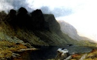 the house of revens, goatwater tarn, coniston, lancashire by frederick clive newcombe