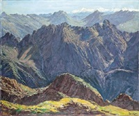 montañas by antonio iglesias sanz