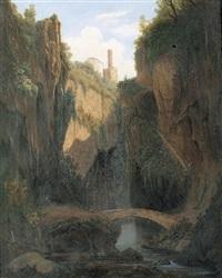 romantische landschaft by alfred von ernst