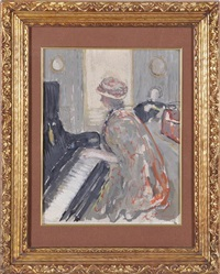 piano serenade by edouard vuillard