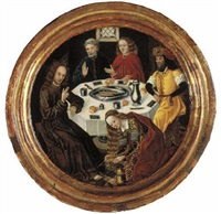 christ in the house of simon the pharisee by flemish school-bruges (15)