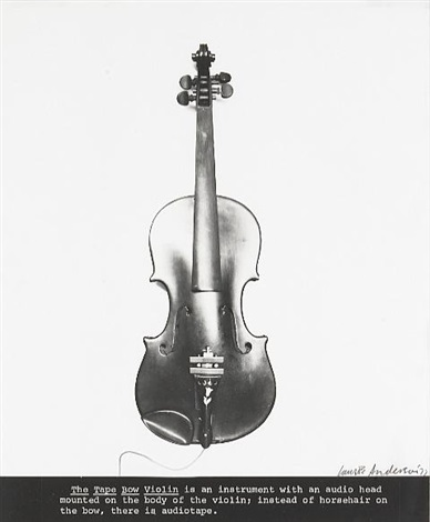 the tape bow violin by laurie anderson