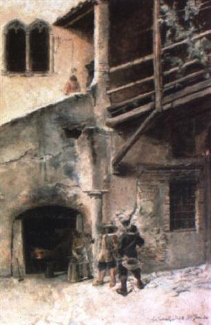 torre del aguilera en roma by antonio amorós botella