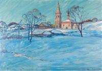 sonnenuntergang by ilya sergejevitch glasunov