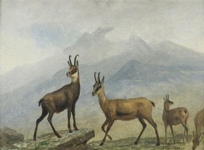 artwork by albert bierstadt