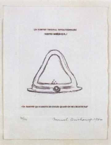 Un Robinet Original Revolutionnaire By Marcel Duchamp On Artnet