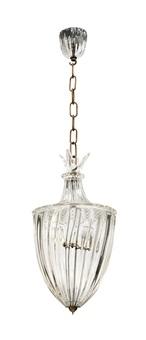 lampada a sospensione by seguso vetri d'arte (co.)