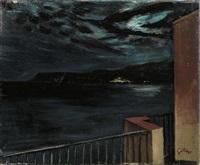 balcone a scilla by renato guttuso