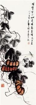 秋实图 镜心 纸本 by jiang fengbai