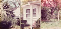 al's porch (triptych) by jan groover