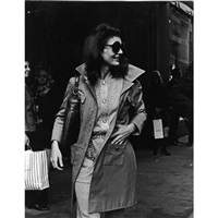 jackie onassis leaving bonwit teller by ron galella
