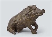wild boar by choun yamazaki