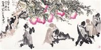 祝寿图 by liu huide