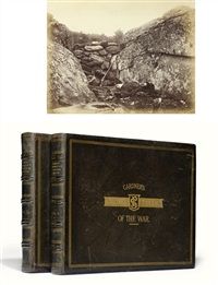 gardner's photographic sketchbook of the war (100 works, 2 folios) by alexander gardner