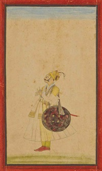 maharaja gul singh of bikaner by ustad qasum