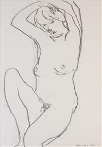 female nude study by brian ballard