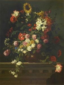 bouquet de flores by jean baptiste monnoyer
