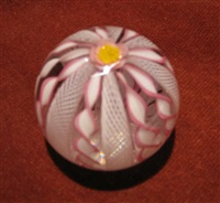 crown paperweight by gordon smith and james kontas