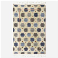 blå plump flatweave carpet by marta maas-fjetterstrom