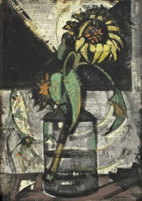 sonnenblume by hermann glöckner