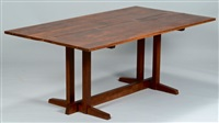 frenchman's cove #2 dining table by george nakashima