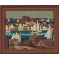 harbor scene by irma renee koen