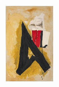 the big a by robert motherwell