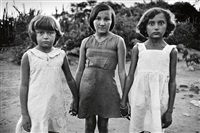 brasil (three young girls) by sebastião salgado