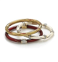 bangle bracelets (set of 3) by soho (co)