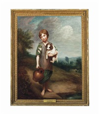 the cottage girl by thomas gainsborough
