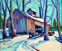 into the sugar shack by russ webster