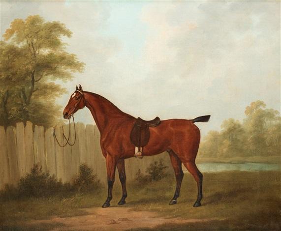 hästporträtt by john nost sartorius