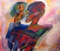 two figures by joyce wieland