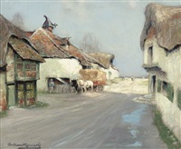 a village in france by william kennedy