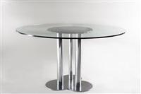 tavolo modello trifoglio by sergio asti