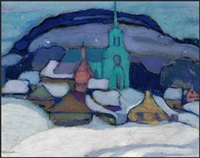 saint-sauveur-des-monts by anne douglas savage