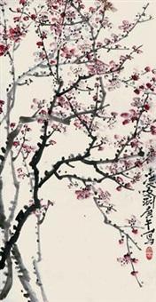 红梅 by ling wenyuan