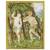 the expulsion of adam and eve by jacob hoefnagel