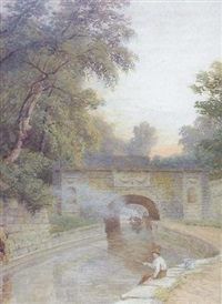 regent's canal by charles davidson