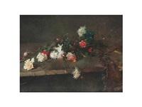 bodegón de flores by luis graner y arrufi