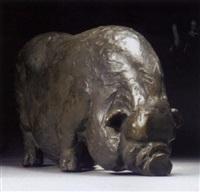 potbellied pig by julia van verschuer