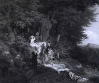frühjahrsausflug in der sächsischen schweiz by friedrich arnold