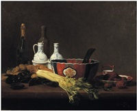 nature morte aux truffes by charles hutin