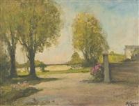 autunno (villa rignon, torino) by mario gachet