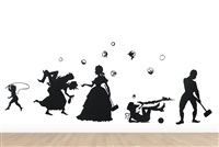 mastah's done gone (in 17 parts) by kara walker