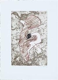 composition (from monument à christoffe colomb et à marcel duchamp) by dorothea tanning
