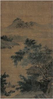 携杖访友图 by xia gui