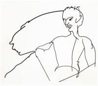 selbstporträt mit schatten by frank dornseif